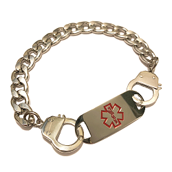 Handcuff  Medical ID Bracelet