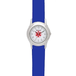 Kid's Medical ID Watch - Blue