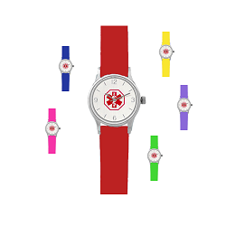 Kid's Medical ID Watch