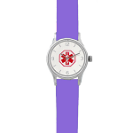 Kid's Medical ID Watch - Purple