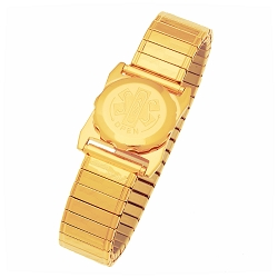 Men's SOS Emergency Medical ID Bracelet - Gold Plated Expansion