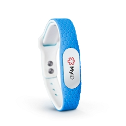 MyID Hive Medical ID Bracelet - Blue