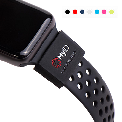 MyID Sleeve Medical ID for Apple Watch, Fitbit and More