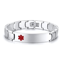 Pax Stainless Steel Medical ID Bracelet