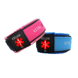 Key 2 Life® EMR Medi-Chip Sport Band USB Bracelet - Kid Size