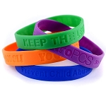 Design Your Own Personalized Silicone ID Bracelet