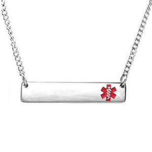 Barbarella Medical ID Necklace