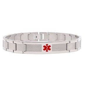 Vista Titanium Medical ID Bracelet