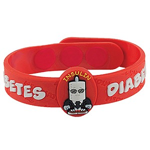 Diabetes MediMates Wristband