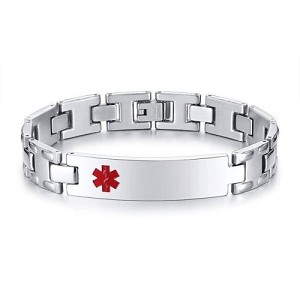 Aspire Stainless Steel Medical ID Bracelet