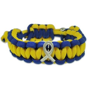 Down Syndrome Awareness Paracord Bracelet