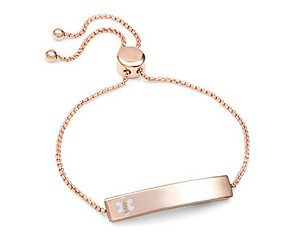 Rose Gold Bolo Slide Medical ID Bracelet